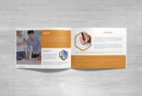 Free Landscape Company Profile Template & Mockup (Psd) with Business Profile Template Free Download