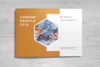 Free Landscape Company Profile Template & Mockup (Psd) within Business Profile Template Free Download