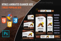 Free Marketing Product: Free Ad Templates | Shoping Html5 throughout Animated Banner Templates