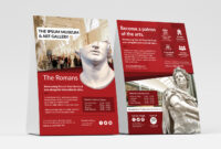 Free Museum Flyer Templates – Psd, Ai & Vector – Brandpacks for Adobe Illustrator Flyer Template