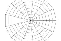 Free Online Graph Paper / Spider inside Blank Radar Chart Template