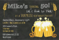 Free Printable 50Th Birthday Invitations That Are Epic pertaining to 50Th Birthday Flyer Template Free
