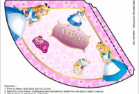 Free Printable Alice In Wonderland Birthday Party Kits throughout Alice In Wonderland Card Soldiers Template