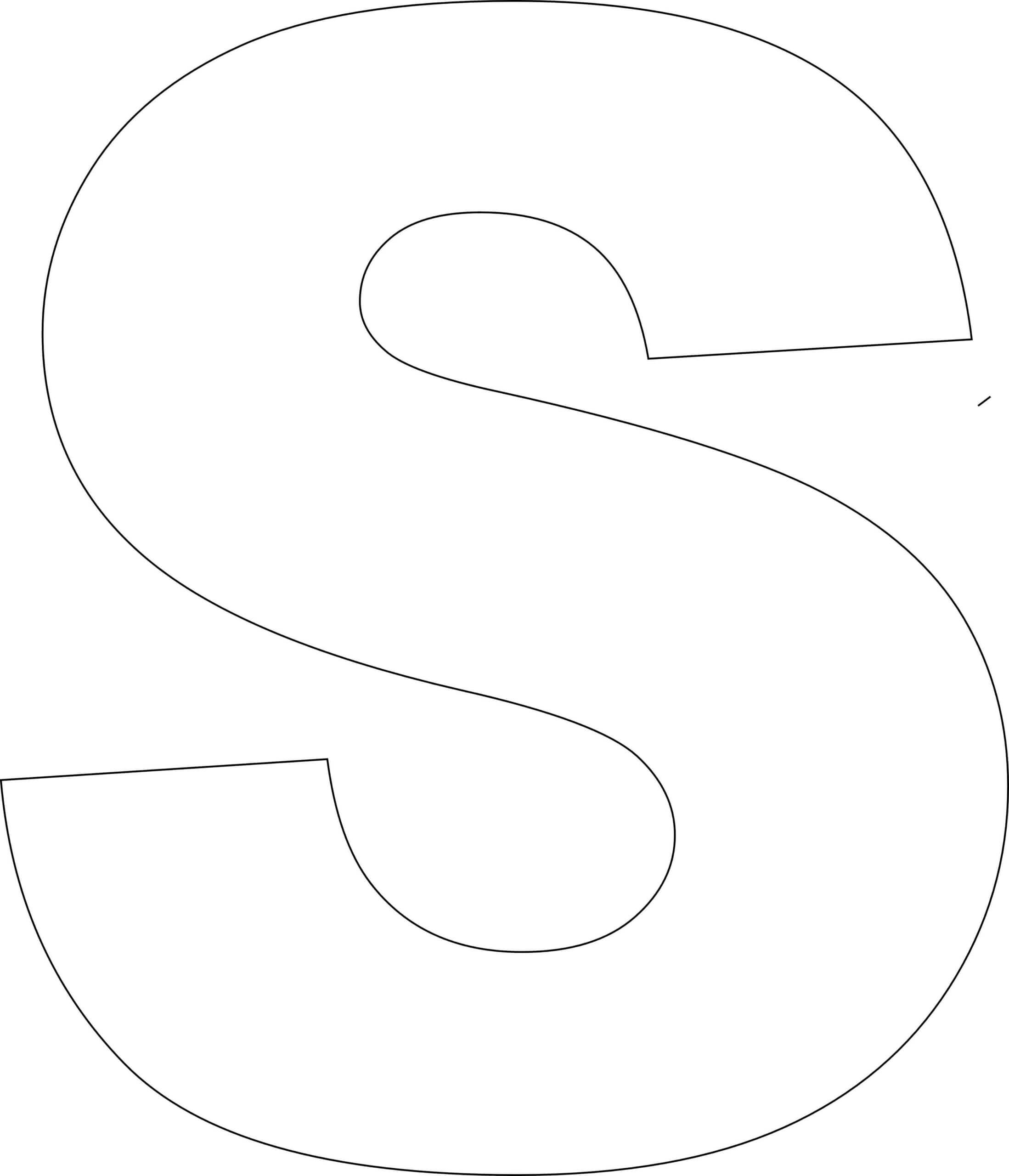 Free Printable Alphabet Template Upper Case Regarding Block Letter Template Free