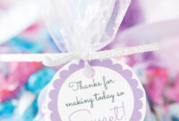 Free Printable Baby Shower Favor Tags In 20+ Colors – Play in Baby Shower Label Template For Favors