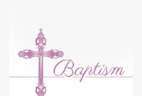 Free Printable Baptism & Christening Invitation Template inside Blank Christening Invitation Templates