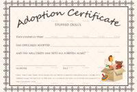 Free Printable Blank Baby Birth Certificates Templates inside Baby Doll Birth Certificate Template
