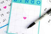 Free Printable Blank Bingo Cards – Design Eat Repeat inside Blank Bingo Template Pdf