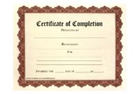 Free Printable Certificates | Certificate Templates in Certificate Of Completion Template Free Printable