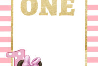 Free Printable Disney Princess 1St Birthday Invitations regarding 1St Birthday Invitation Templates Free Printable