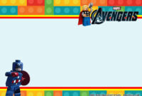 Free Printable) – Lego Avengers Birthday Party Kits Template inside Avengers Birthday Card Template