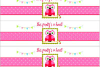Free Printable Water Bottle Label Template Baby Shower regarding Baby Shower Bottle Labels Template