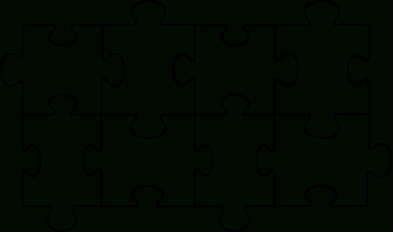 Free Puzzle Pieces Template, Download Free Clip Art, Free Regarding Blank Jigsaw Piece Template