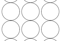 Free Round Label Templates ] – Christmas Gift Labels Happy throughout 2 Inch Circle Template
