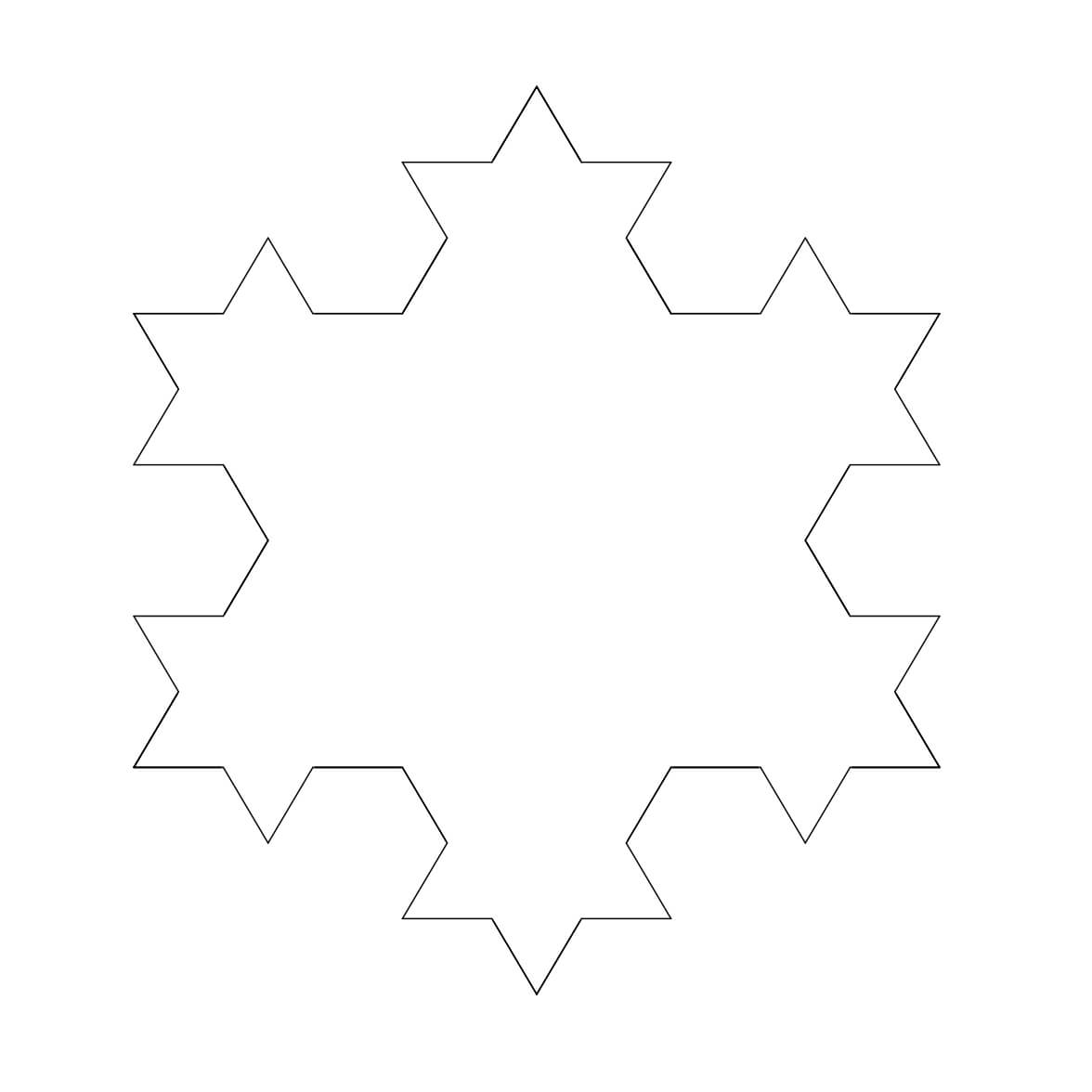 Free Snowflake Outline, Download Free Clip Art, Free Clip Inside Blank Snowflake Template
