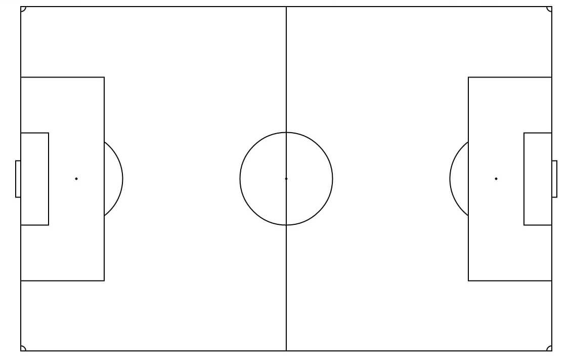 Free Soccer Field Template, Download Free Clip Art, Free Within Blank Football Field Template