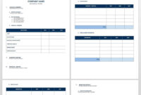 Free Startup Plan, Budget & Cost Templates | Smartsheet with Business Plan Balance Sheet Template