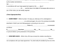 Free Tennessee Eviction Notice Forms | Process And Laws intended for 30 Day Eviction Notice Template