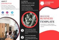 Free Tri-Fold Brochure Template – Download Free Tri-Fold for Adobe Tri Fold Brochure Template