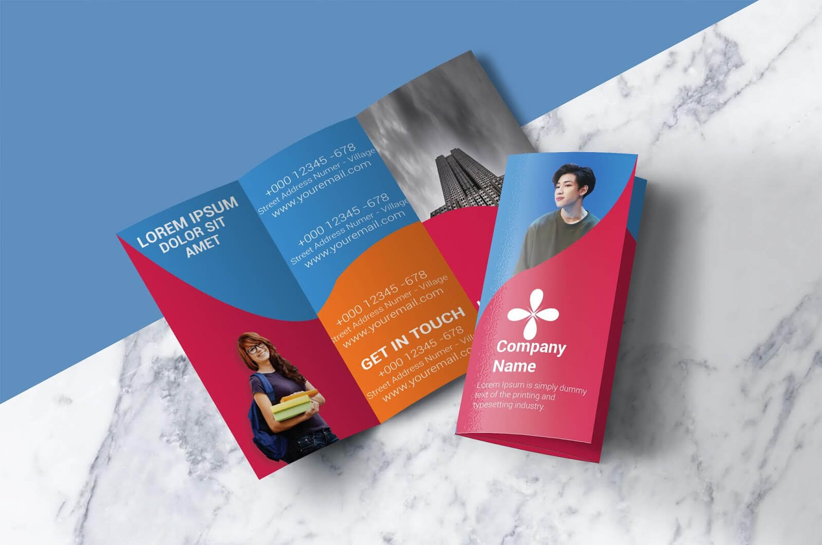 Free Tri Fold Brochure Template – Download Free Tri Fold Pertaining To Adobe Illustrator Tri Fold Brochure Template