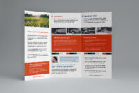 Free Trifold Brochure Template In Psd, Ai & Vector – Brandpacks with regard to 3 Fold Brochure Template Free