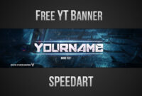 Free Youtube Banner Template (Psd) *new 2015* – Templates with regard to Adobe Photoshop Banner Templates