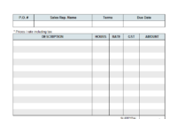 Freelance Writer Invoice pertaining to 1099 Invoice Template