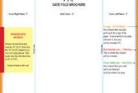 Gate Fold Brochure Template – 6 Free Templates In Pdf, Word inside 6 Panel Brochure Template
