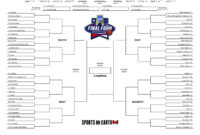 Get Your Printable 2016 Ncaa Tournament Bracket Here within Blank Ncaa Bracket Template