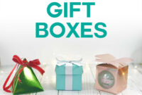 Gift Box Templates: Perfect For Handmade, Small Gifts And regarding Card Box Template Generator