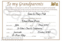Godparent Certificate Template ] – Religious Godfather within Baby Christening Certificate Template