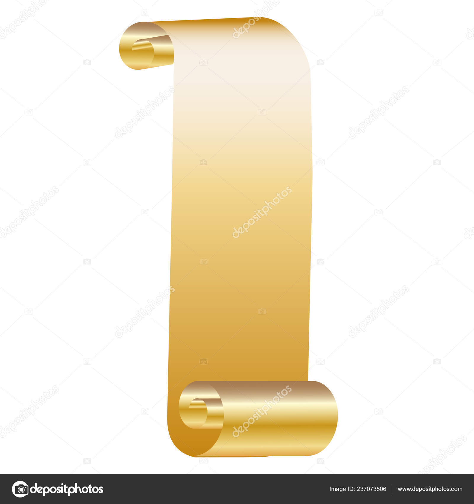 Golden Ticket Gift Certificate Gift Voucher Vector Template For Certificate Scroll Template