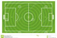 Green Football Field Template Stock Illustration with regard to Blank Football Field Template