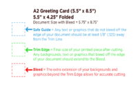 Greeting Card Template Free Download with regard to A2 Card Template