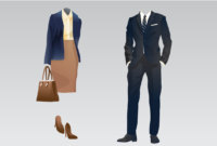 Guide To Business Attire (With Examples) | Indeed throughout Business Attire For Women Template