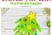 Handprint Christmas Tree Cards – Kids Craft Room intended for 3D Christmas Tree Card Template