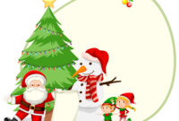 Happy Christmas Card Template with regard to Adobe Illustrator Christmas Card Template