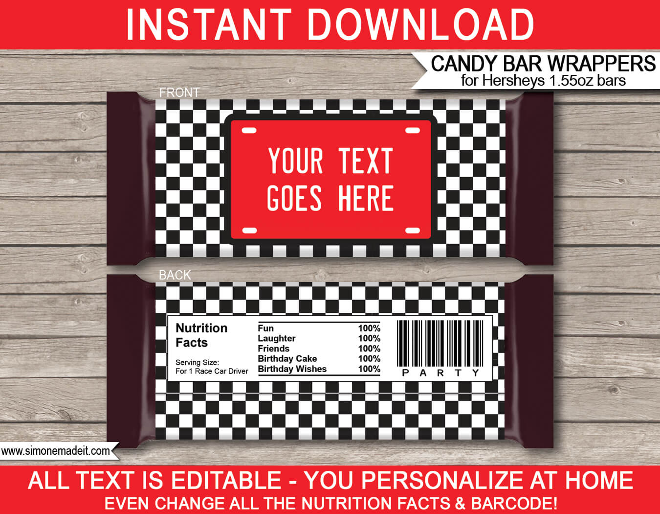 Hershey Wrapper Template. Robot Hershey Candy Bar Wrappers Intended For Candy Bar Label Template
