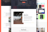 High Quality Free Psd Website Templates To Download ] – 20 intended for Business Website Templates Psd Free Download