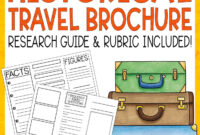 Historical Travel Brochure And Research Project | Literacy in Brochure Rubric Template