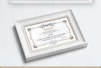 Honor Certificate Lace Certificate Certificate Shading pertaining to Certificate Of License Template