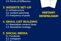 How To Craft Your Blog Business Plan (Template Included!) inside Business Plan Template For Website