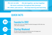 How To Create A Fact Sheet For New Hires + Examples with Business One Sheet Template