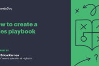How To Create A Sales Playbook: The Ultimate Guide & Template in Business Playbook Template