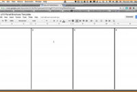 How To Make A Brochure In Google Docs intended for Book Template Google Docs