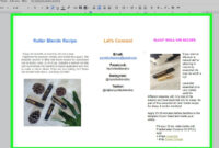 How To Make A Brochure Using Google Docs (With Pictures with regard to Book Template Google Docs