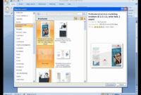 How To Make A Trifold Brochure In Powerpoint – Carlynstudio with Brochure Templates For Word 2007