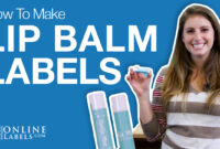 How To Make Lip Balm Labels In 4 Easy Steps – Onlinelabels intended for 2.125 X 1.6875 Label Template