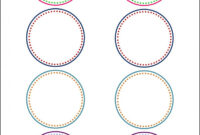 How To Make Pretty Labels In Microsoft Word pertaining to 2 Inch Circle Template