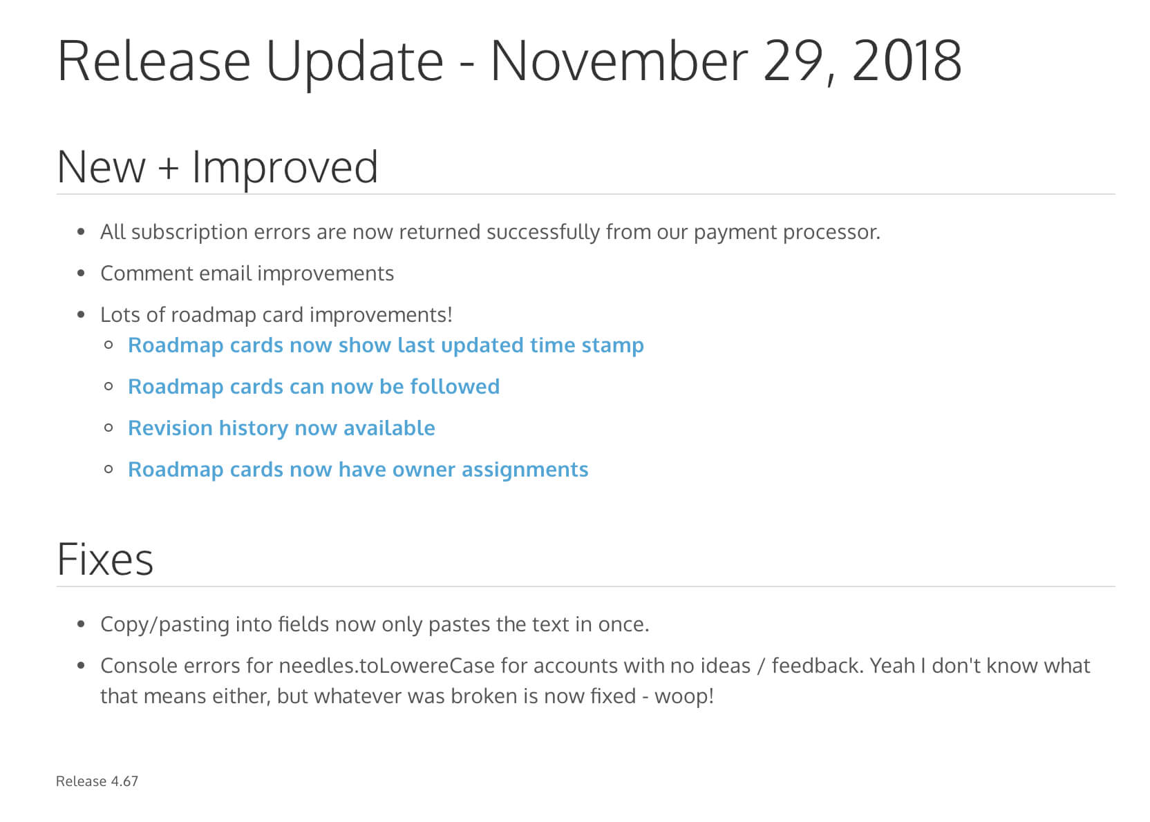 How To Write Great Release Notes   Prodpad Inside Build Release Notes Template